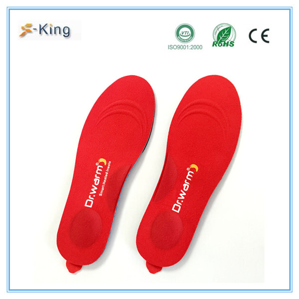 Dr.warm heated insole foot warmer,you poron shoe insole for work and ski and winter boots