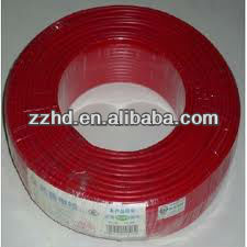 pvc coated copper solid core heat resistance electrical wire