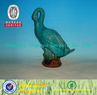Chinese modern ceramic craft duck