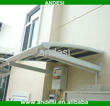 Customized wall mounted aluminum roof canopy