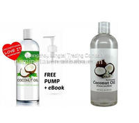 OEM/ODM Fractionated Coconut Oil 100% Pure Base and Carrier Oil
