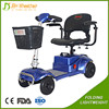 20AH four wheels electric handicap scooters with PG controller
