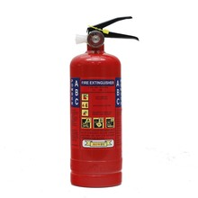New production with fine wall bracket 1kg dcp fire extinguisher red tank
