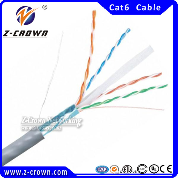 Z-Crown Cat6 FTP/STP pure copper best price network cable pinout
