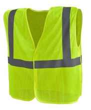 EN ISO20471 Class 2 High Visibility Reflective Safety Mesh Vest