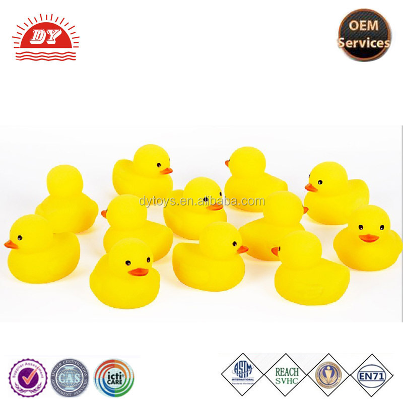 Promotion soft bath toy rubber duck for babies