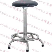 stainless steel five legs stool