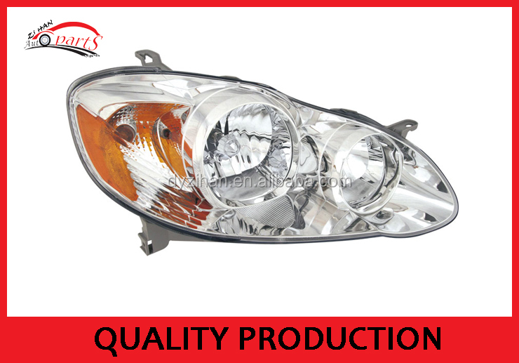 car head lamp used for toyota corolla 2003 head lamp