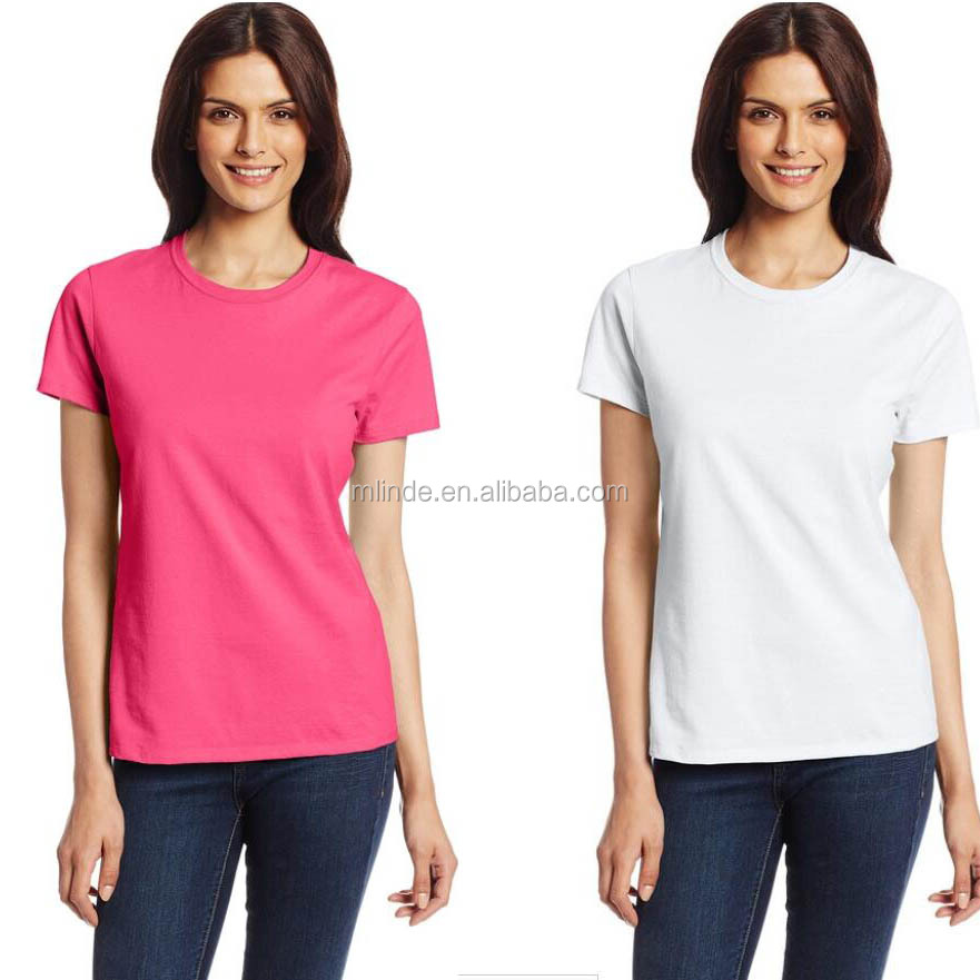 Short sleeve classic tee featuring ribbed crew neckline Nano T Shirt For Women
