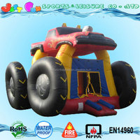inflatable monster truck bounce house, kids monster truck jumping castle with prices