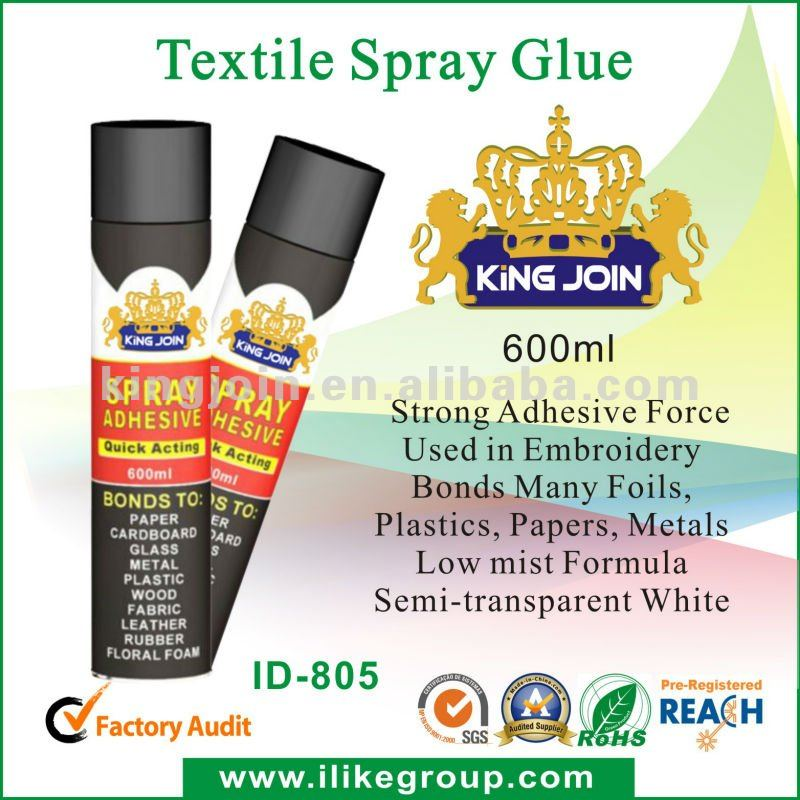 Textile Glue Spray ( Ideal for the UK market )