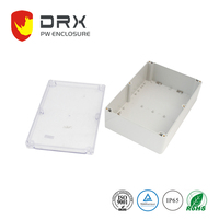 ABS plastic wifi router enclosure,3G 4G wireless network telecommunication electronics modemPW004T,plastic router enclosure