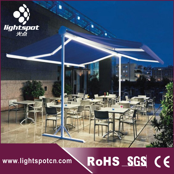 Commercial Freestanding Supports Awnings In The ...