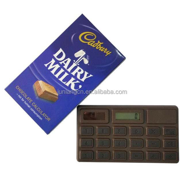 Promotional Chocolate Smell Calculator Solar Power