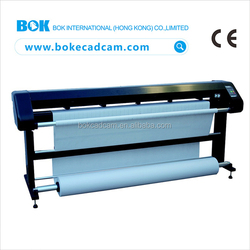 China hot sell item 2/4 INK-HEADS second hand printer used inkjet plotter machine with low price