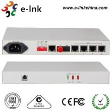 4E1 19inch Fiber Optical PDH/SDH Multiplexer
