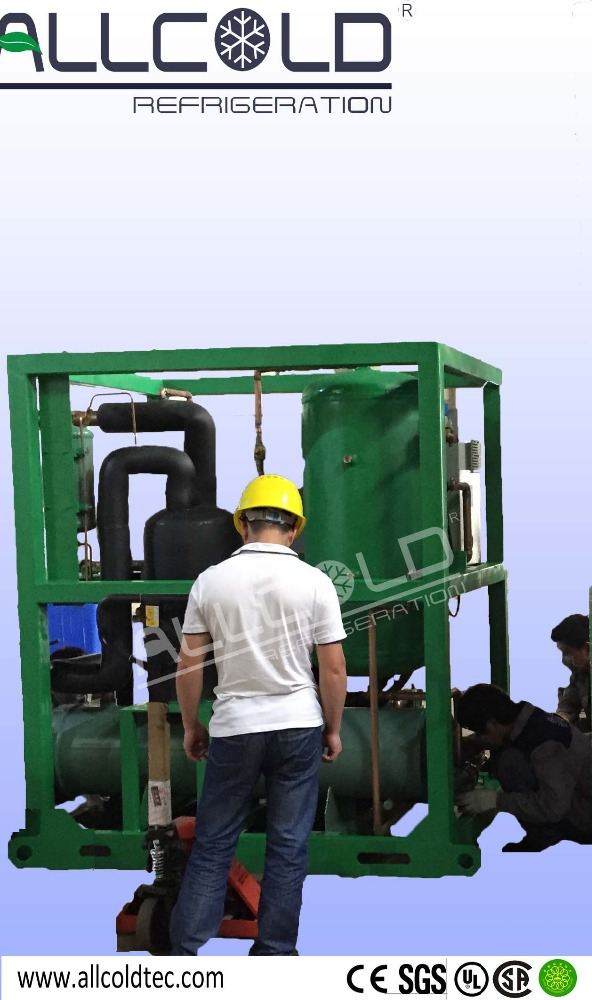 Tube ice machine For Meat Plants