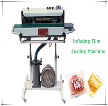 Automatic Inflating Film Sealer for Bags,gas filling Band Sealer