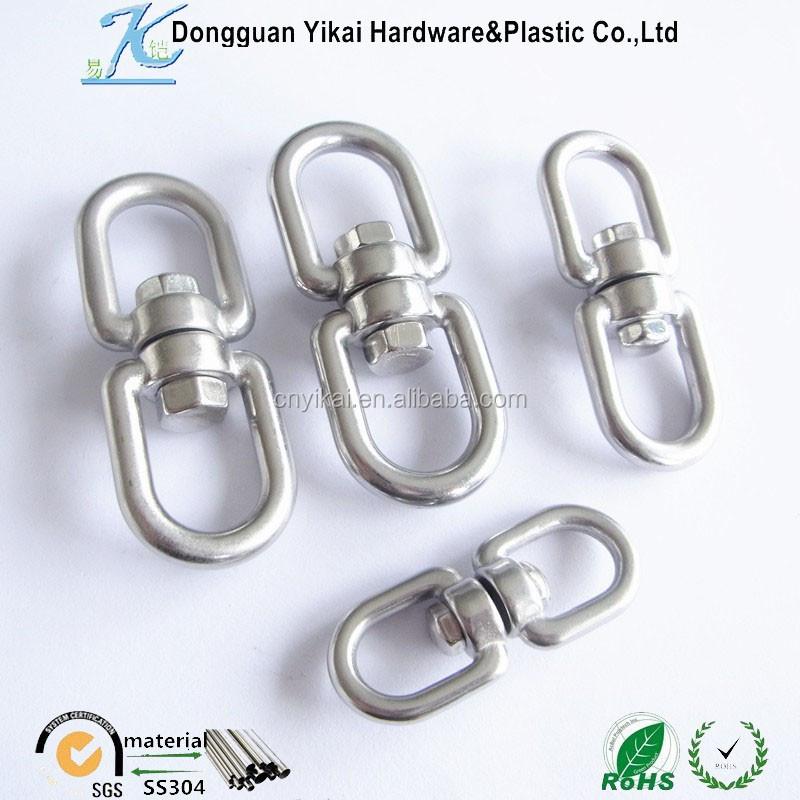 Stainless steel swivel lifting eye hooks metal