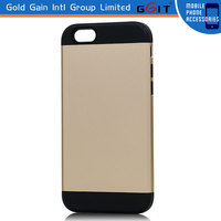 High Quality Hybrid TPU PC Super Slim Mobile Phone Case Cover for Apple for iPhone 6