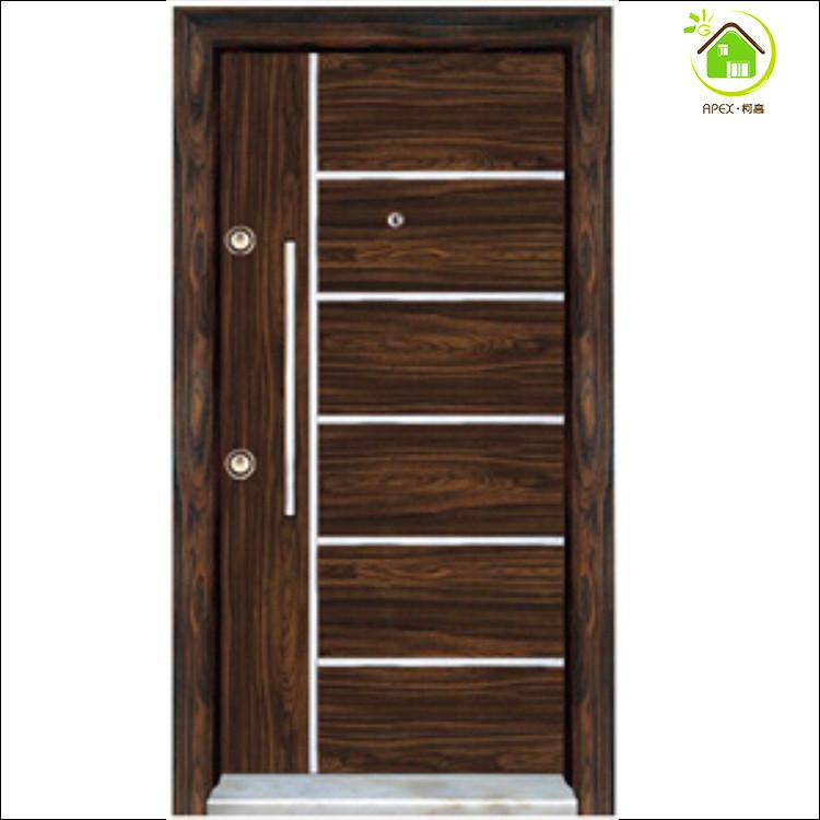 Steel Wooden Door : Armoured doors security door locking system