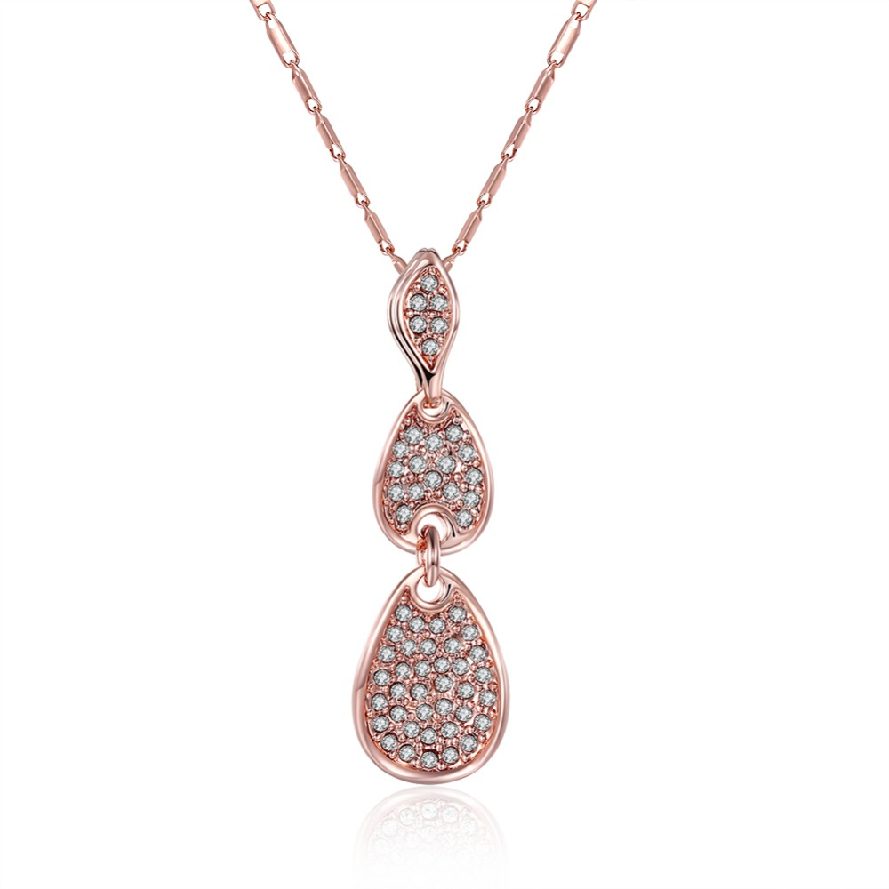 Alibaba ru jewellery rose gold pendant fashion necklace
