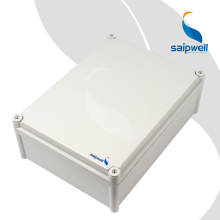 SP-PC-283813 280*380*130 PC IP65 Waterproof Enclosure Box Saip Saipwell Electronic PC Outdoor Weatherproof Enclosure