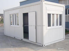 Prefab 40ft mobile foldable flatpack container house / shop toilet / kitchen