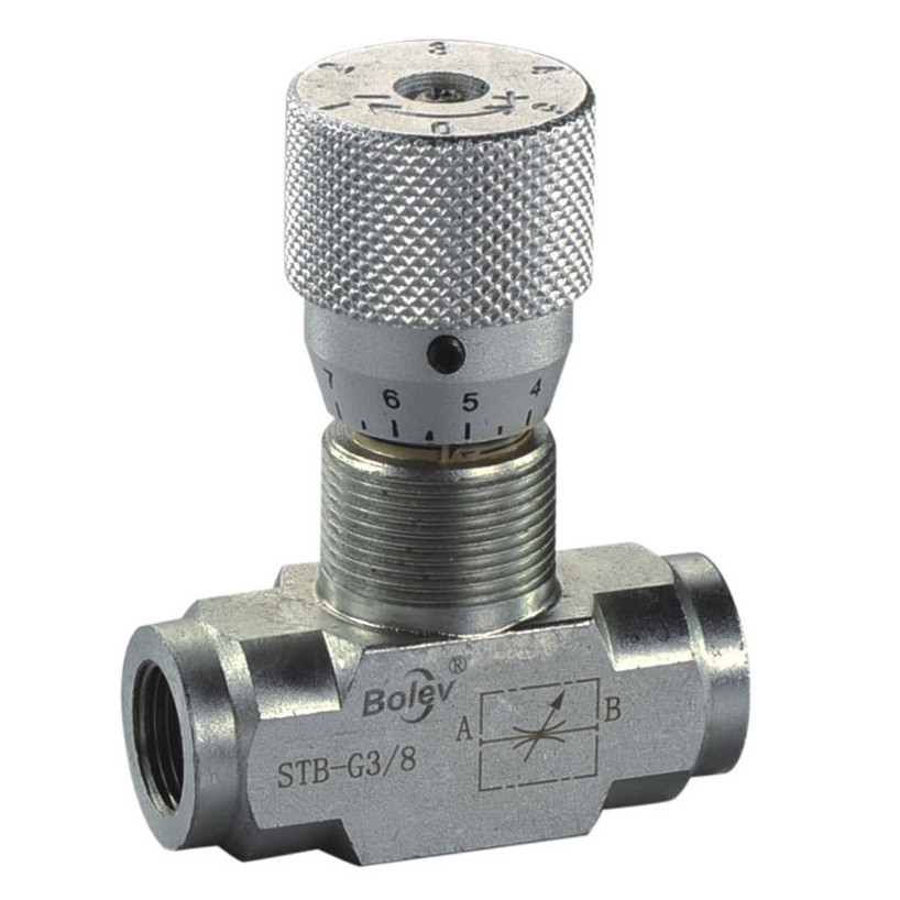 With 20 years experience factory supply 100% tested hydraulic flow control needle valve