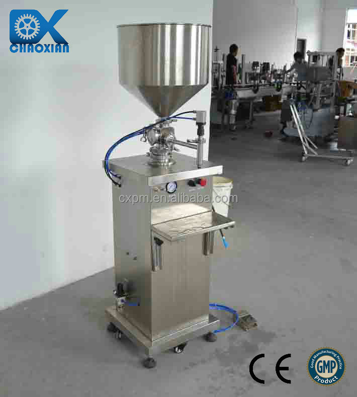 China ChaoXian semi-automatic normal saline filling machine