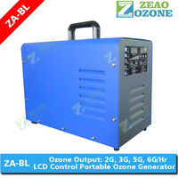 Portable corona UV ozone generator for hotel