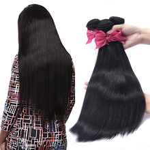 Natural Color 10A 100 Unprocessed Raw Remy Wholesale Brazilian Virgin Human Hair Straight Hair