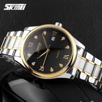 japan quartz movt high quality stainless steel watches luxury cheap clock with diamond