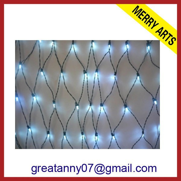 2015 new design Triangle large decorate ceiling net lights With good quality