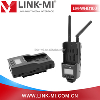 LM-WHD100 LCD Screen 3D format Video HDMI TV Wireless Transmitter Receiver 100m up to 1080p