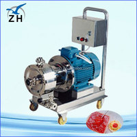 bitumen emulsion pump emulsifier equipment for facial cream mixer toothpaste cream emulsifier mixer