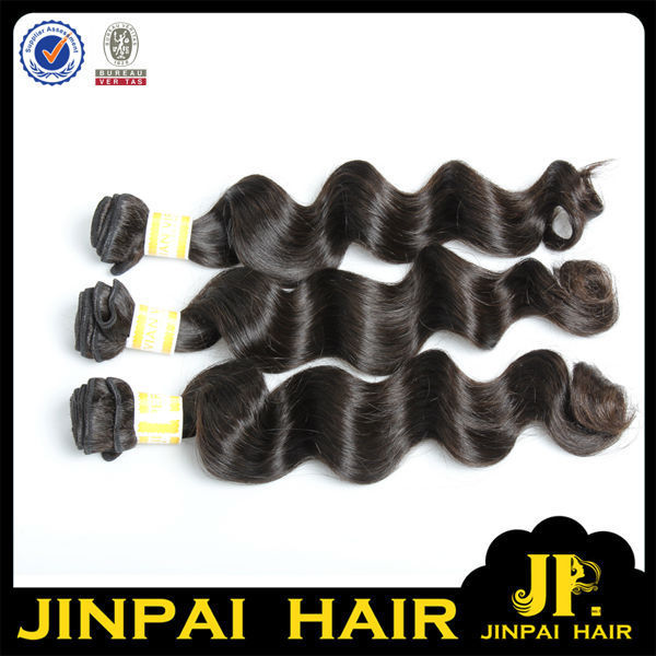 JP Hair Bouncy Curl Soft Virgin Peruvian Loose Wave Hair