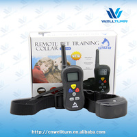 Modern remote dog training collar equipment for pets PTS008