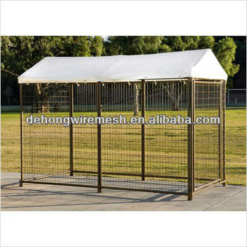 galvanized steel dog kennels/powder coated steel dog cage