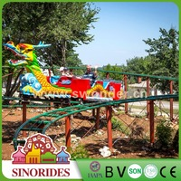 Theme park ride roller coaster luxury outdoor playground equipment for sale