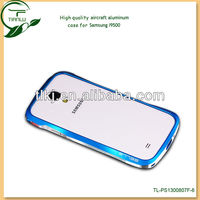 china new product mirror surface aluminum texture luxury thin aluminum case for samsung galaxy s4