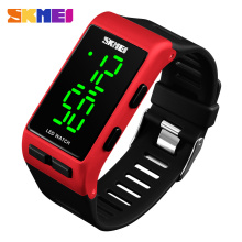 Fashion new Design Sports Silicone Digital LED Bracelet Watch 1364