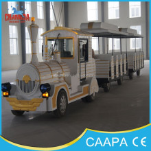European Standard IVECO Engine diesel tourist trains for sale,amusement park train ride