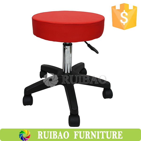 Adjustable Height Bar Stools with Footrest Hairdressing for Bar Counter