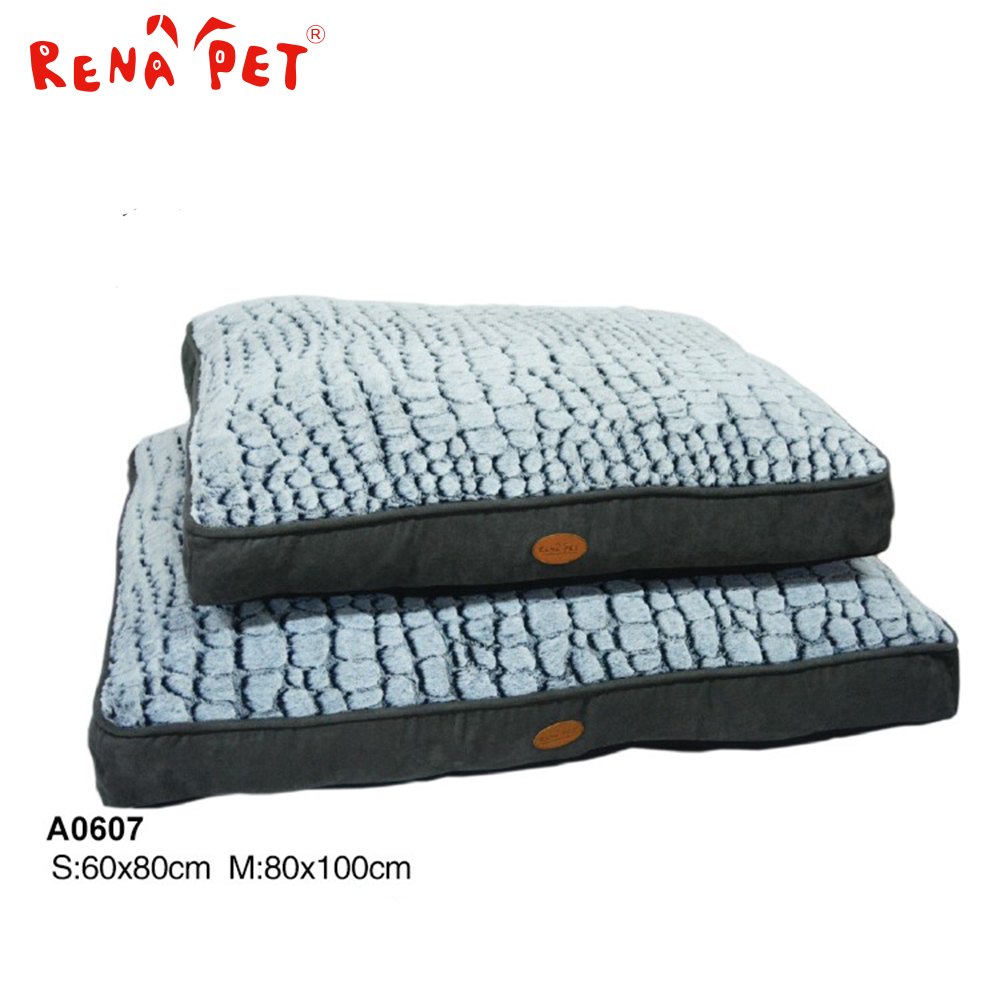 Beautiful comfortable washable pet accessories bed raised dog bed