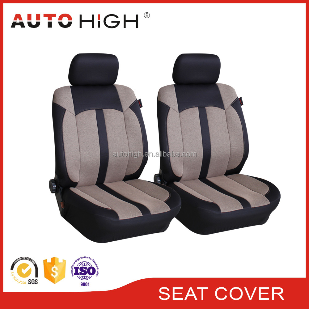 Custom designer wholesale durable and washable front car seat cover for car
