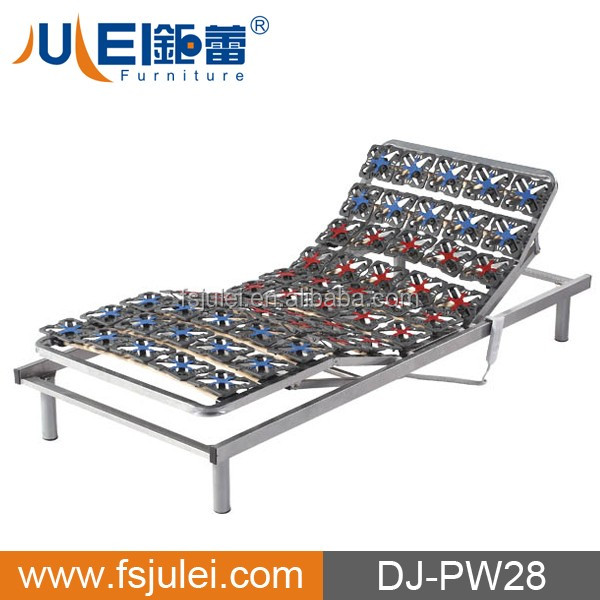 more comfortable with soft plastic flower adjustable electric bed frame DJ-PW28
