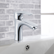 Bathroom Chrome Finished Bronze Basin Faucet