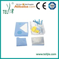 Angiography pack for hospital surgical usage from manufacturer