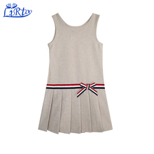 Baby girls dresses names with pictures school uniform with khaki colors